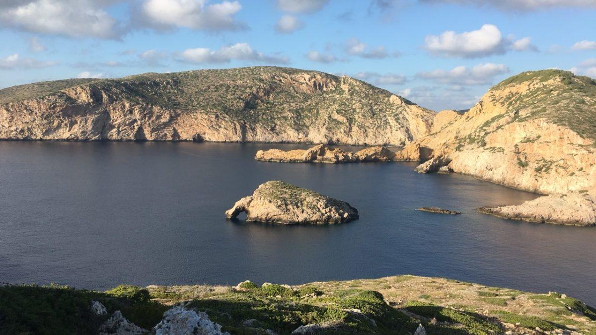 La illa de Cabrera i les Nacres